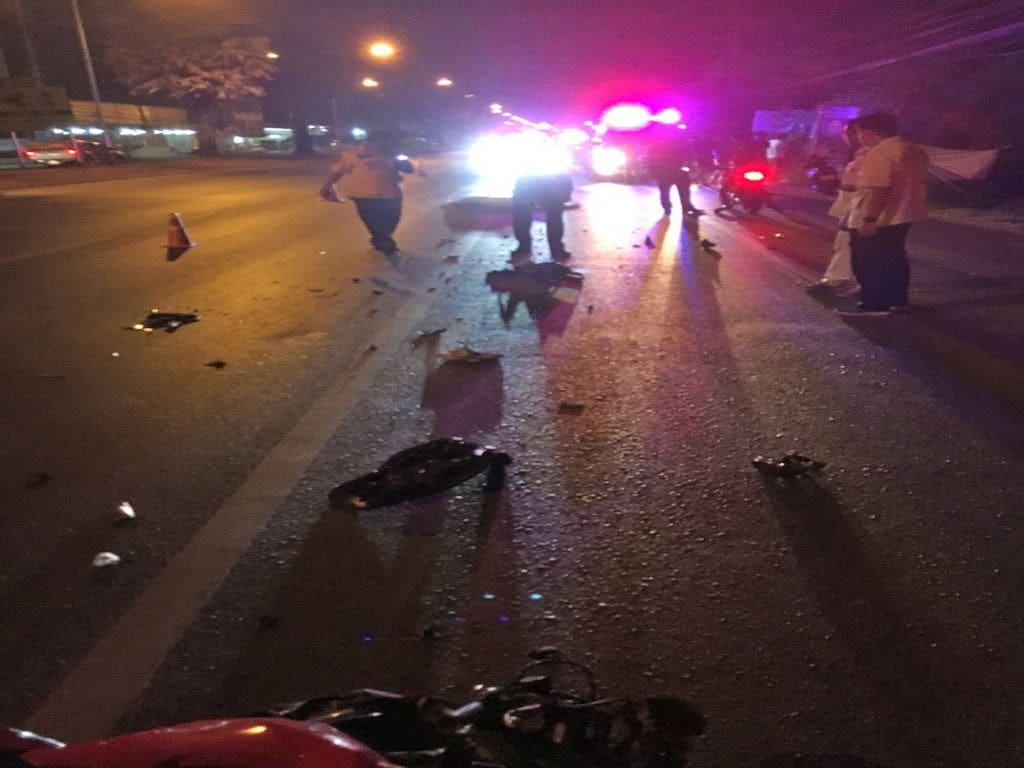 Motorbike rider dies after colliding with ten wheeler truck in Thalang | The Thaiger