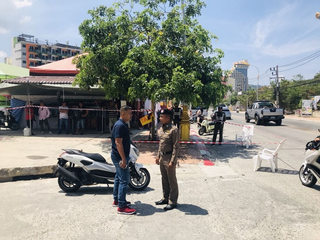 Alleged Patong taxi driver killer surrenders to police | News by The Thaiger