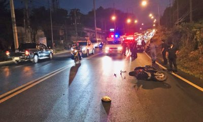Woman crushed under a truck, two others injured, truck speeds away, Kata Hill | The Thaiger
