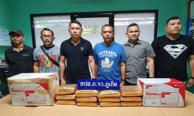 Fourteen kilograms of marijuana seized in pre-Songkran drug crackdowns | The Thaiger