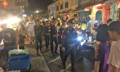 Security stepped up in Phuket in the wake of Satun and Patthalung bombs | The Thaiger