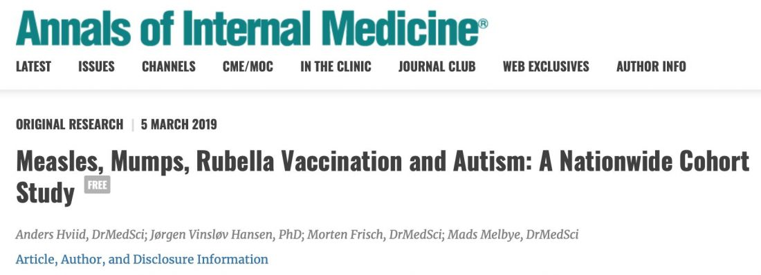 """""""Measles vaccine doesn't cause autism"""" - conclusive Danish study   News by Thaiger"""