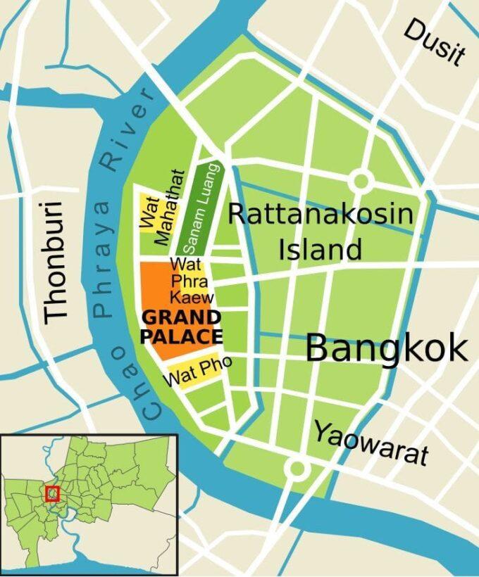 Historical Rattanakosin Island