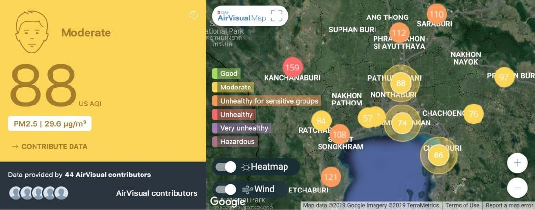Forecast for poor air quality returning to Bangkok | News by Thaiger