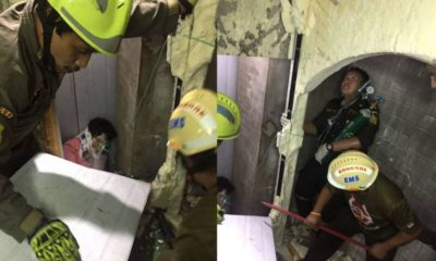Canadian woman rescued from air-conditioning shaft at luxury Silom hotel | The Thaiger