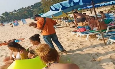 Officers follow-up on slow loris tout on Phuket beach – VIDEO | The Thaiger