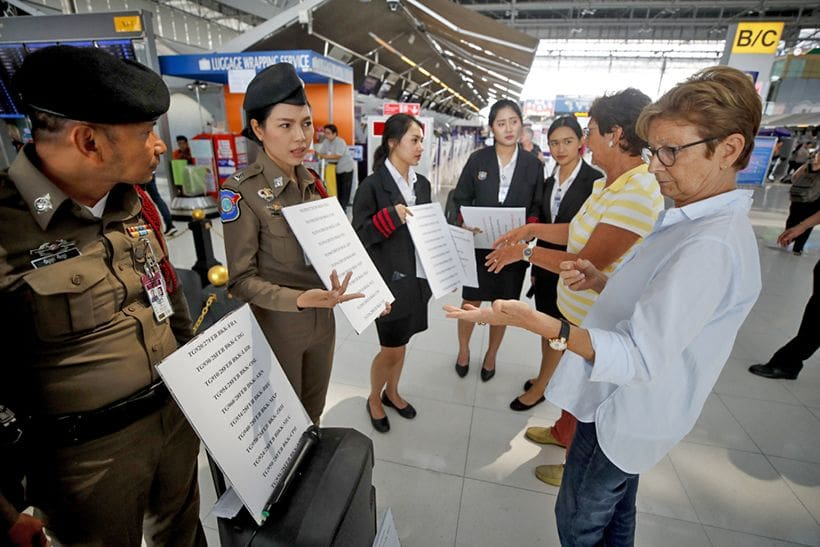 Thai Airways hope to clear backlog of stranded passengers over weekend | The Thaiger