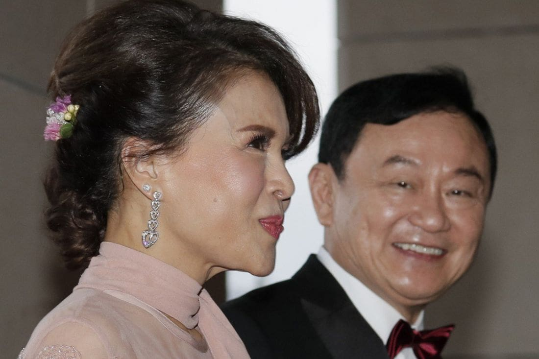 King revokes royal decorations from former PM Thaksin | The Thaiger