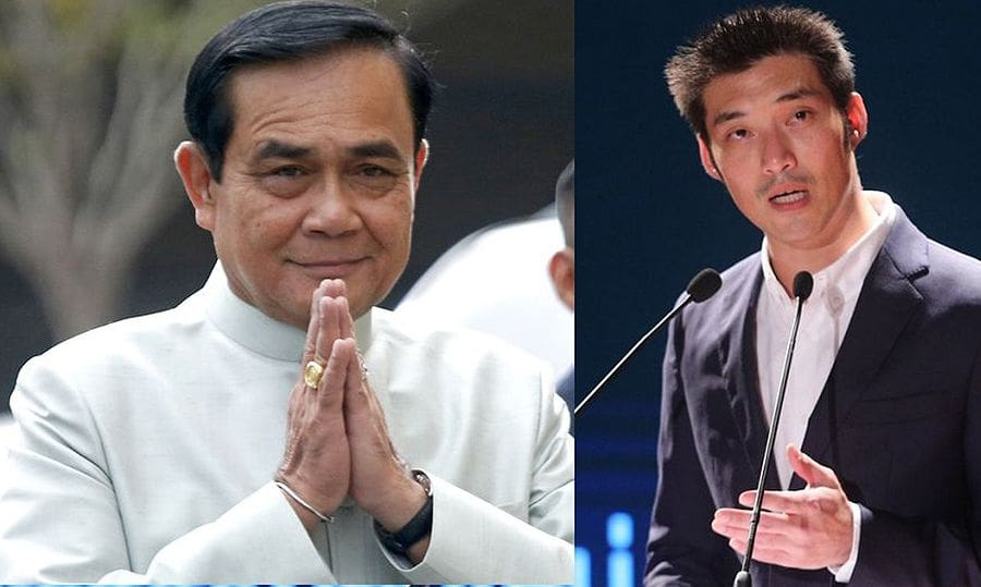 Prayut and Thanathorn cleared to proceed with election | The Thaiger