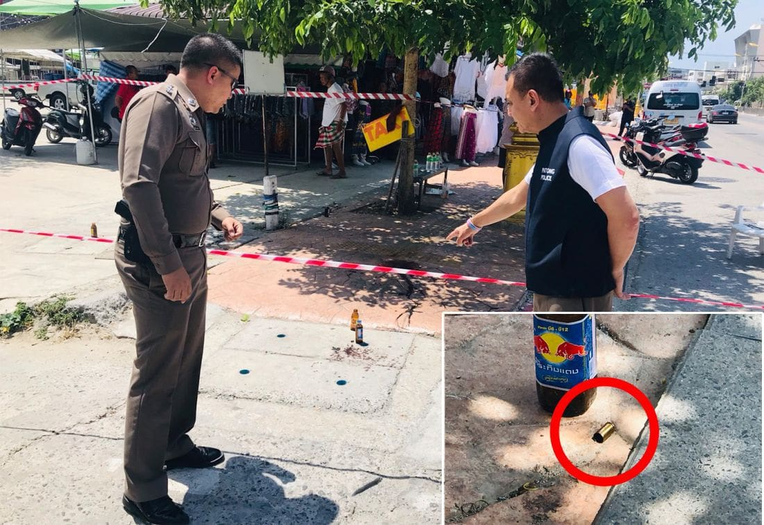 UPDATE: Taxi driver shot dead in Patong | The Thaiger