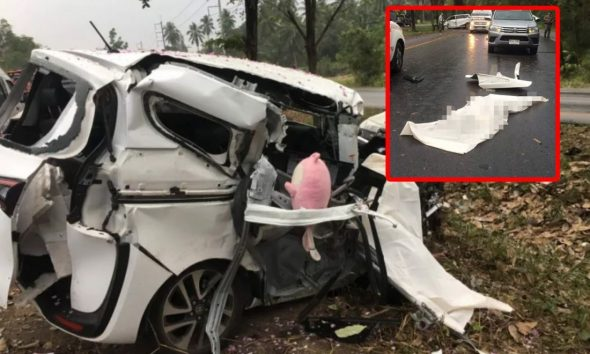 Two killed in family road trip to Krabi | The Thaiger