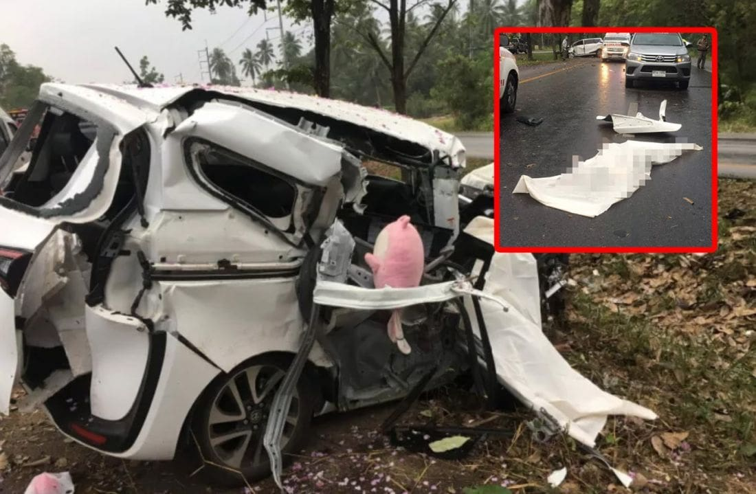 Two killed in family road trip to Krabi   The Thaiger