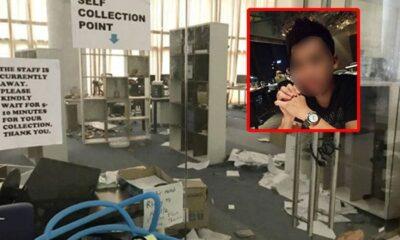 หนุ่มมาเลเซีย ฉุน ถูกไล่ออก 2 ครั้ง บุกแทงหัวหน้างานคาออฟฟิส ผอ.เข้าช่วยโดนลูกหลงด้วย | The Thaiger