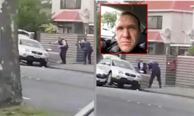 วินาทีตำรวจรวบตัวผู้ต้องสงใส เหตุกราดยิงที่นิวซีแลนด์ ล่าสุดผู้เสียชีวิตพุ่งเป็น 49 รายแล้ว | The Thaiger