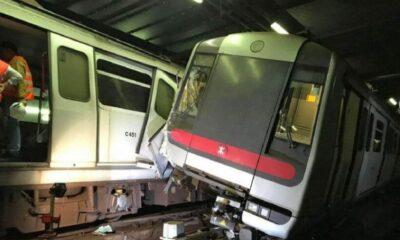ด่วน! รถไฟใต้ดินฮ่องกงชนประสานงากลางชั่วโมงเร่งด่วน ผู้โดยสารวุ่น | The Thaiger