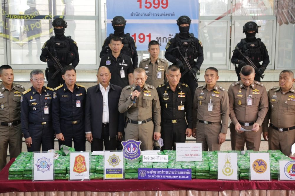 Bangkok Police announce two major drug busts | The Thaiger