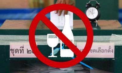 Ban on alcohol for 24 hours, starts today at 6pm | The Thaiger