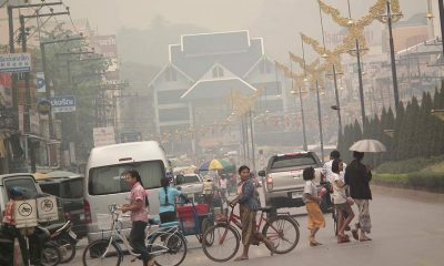 Chiang Mai, Chiang Rai, continue to suffer under persistent haze | The Thaiger