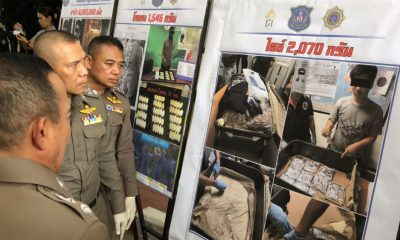 800 million baht of drugs seized in three recent busts | The Thaiger