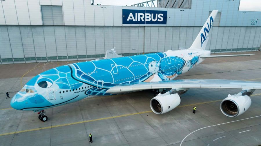 Fly on the 'Honu', snazzy new Airbus jumbo design | The Thaiger