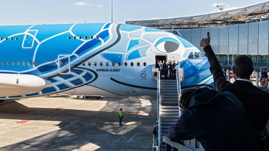 Fly on the 'Honu', snazzy new Airbus jumbo design | News by The Thaiger