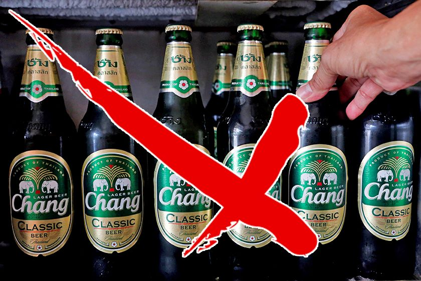 Alcohol ban on the weekend of the election AND the weekend before as well | The Thaiger
