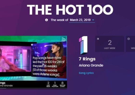 10 อันดับเพลงสากล Billboard hot chart ประจำสัปดาห์ [23 มี.ค. 62] | The Thaiger