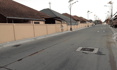 Pattanakarn footpath project completion six weeks away | The Thaiger