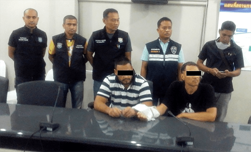 Wanted Russians walk into Pattaya immigration office | The Thaiger