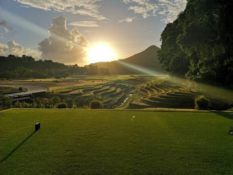 A family of three grooms Vietnam's most edible golf course   News by The Thaiger