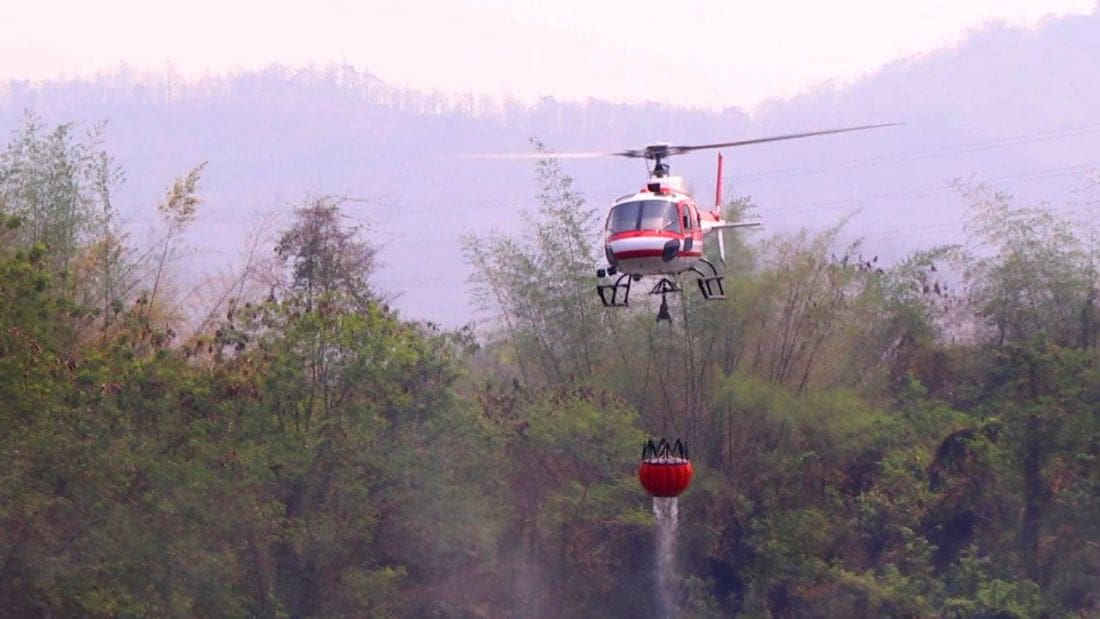 Where there's fire, there's smoke – Lampang mountains | The Thaiger