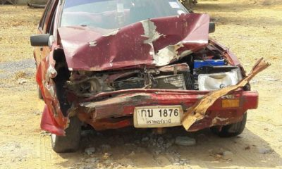 1 dead after monk rear-ends pickup in Nakhon Ratchasima | Thaiger