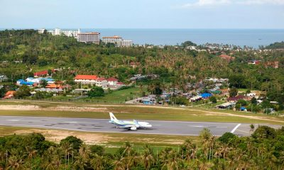 Kite protest as Samui airport's neighbors demand more compensation | Thaiger