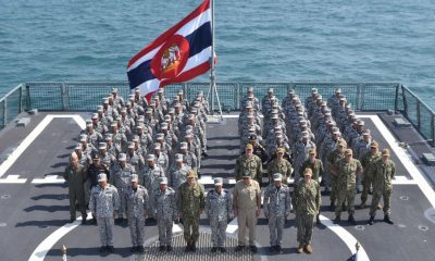 ทัพเรือไทยผนึกทัพเรือสหรัฐฝึกร่วมผสม Guardian sea 2019 | The Thaiger