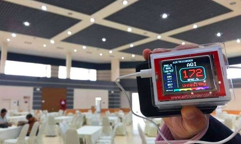 Alarmingly high PM2.5 levels found in Chiang Mai, INSIDE a safety zone building | News by The Thaiger