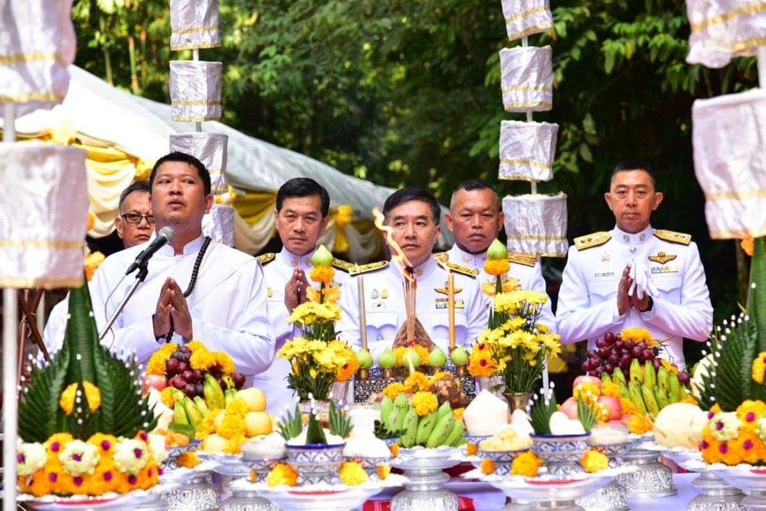 Sacred waters begin their journey to Bangkok for Royal Coronation | News by The Thaiger