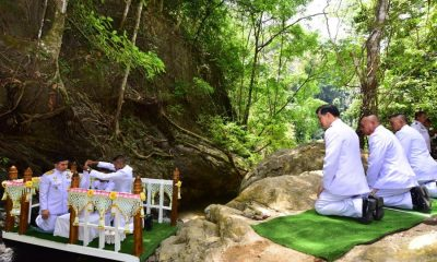 Sacred waters begin their journey to Bangkok for Royal Coronation | The Thaiger