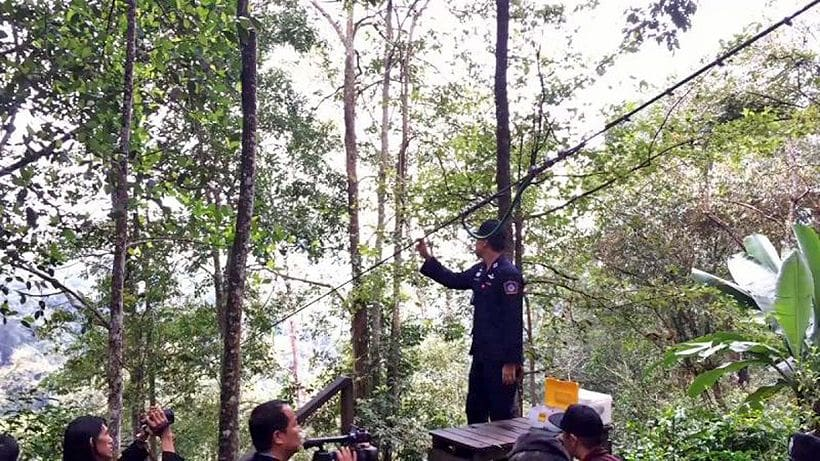 UPDATE: 25 year old Canadian dies after falling from Chiang Mai zipline ride | News by The Thaiger