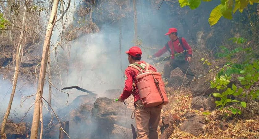 Mae Hong Son continues to be plagued with fires | The Thaiger