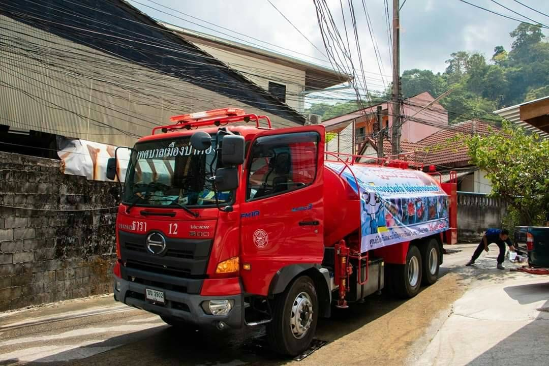 Water trucks asked not to cross Patong Hill on Songkran day | The Thaiger