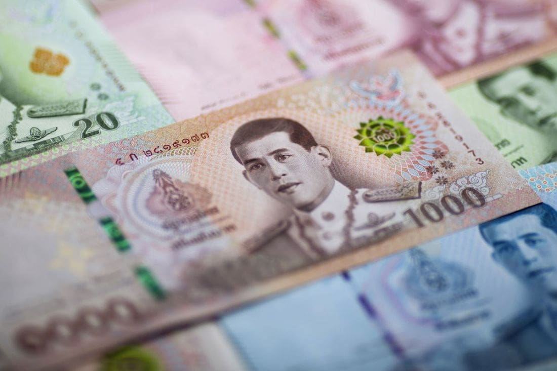 Thai baht lowest since January | The Thaiger