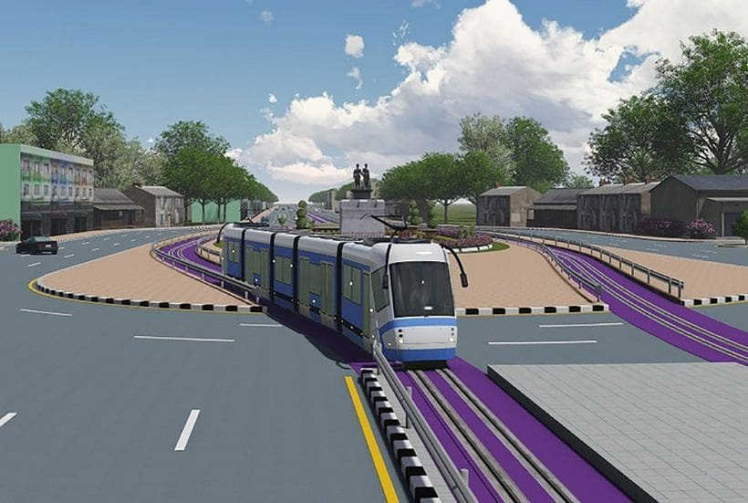 Royal approval for four light-rail train projects, including Phuket   The Thaiger