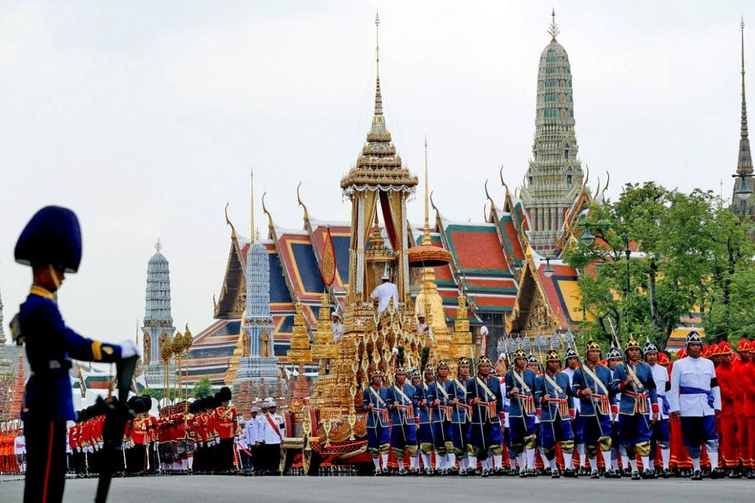 Rattanakosin Island  roads closed for royal coronation rehearsals | The Thaiger