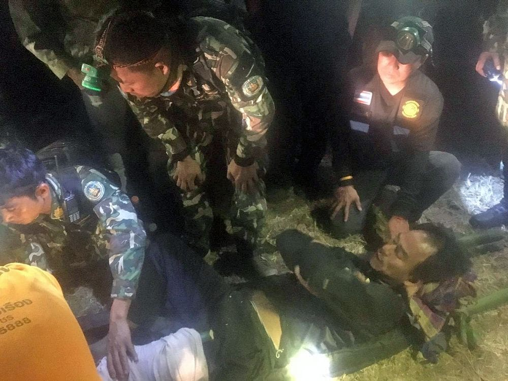 Hunters injured in Chiang Mai national park shoot-out | The Thaiger