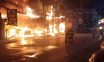 Patong transformer short-out escalates into massive shop fire – VIDEO | The Thaiger