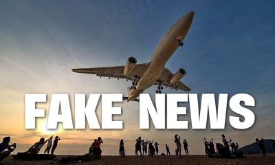 Fake news goes viral about 'death sentence' for Phuket airport selfies | The Thaiger