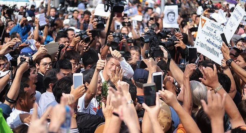 Thanathorn urged to 'fight on' as he surrenders to Bangkok police   News by Thaiger