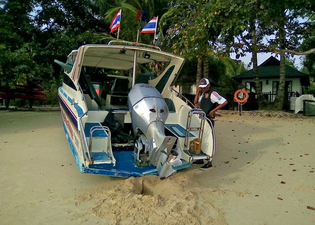 American impromptu speedboat adventurer pays up and apologises | News by Thaiger
