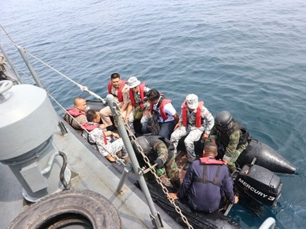 Navy files report against 'seasteading' structure off Phuket | The Thaiger