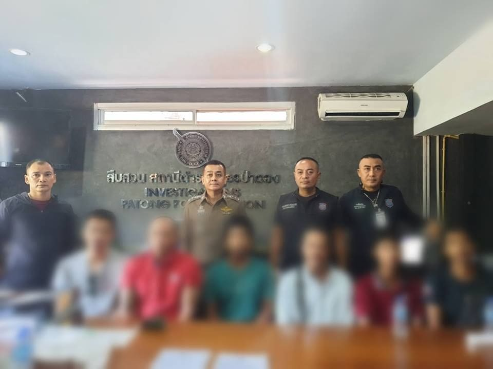 Patong tourist attackers remain in custody – investigation continues | The Thaiger